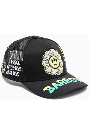 BARROW Black baseball cap with patches
