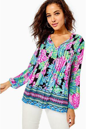 Lilly Pulitzer Women Long sleeves - Marilina Lileeze Long Sleeve Tunic Top