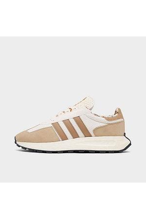 adidas Men's Originals Retropy E5 Casual Shoes in Brown/Savannah Size 9.5 Suede