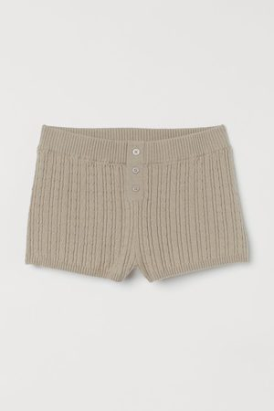 H&M Cable-knit Shorts