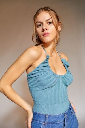 Urban Outfitters UO Mila Sweater Halter Top