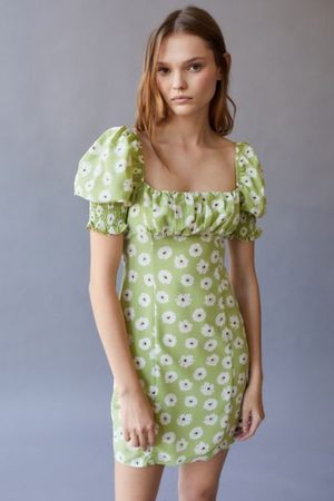 Glamorous Women Party Dresses - Floral Mini Dress