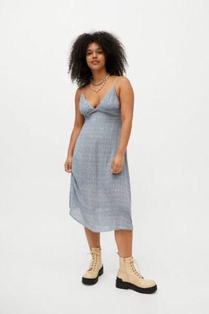 Dress Forum Printed Slip Midi Dress