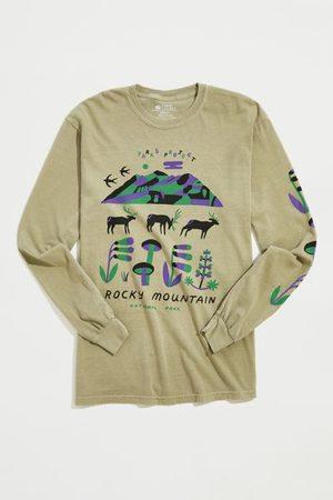 Urban Outfitters Rocky Mountain Elks Long Sleeve Tee