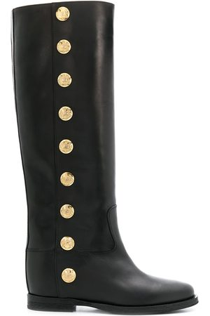 Via Roma Knee high buttoned boots