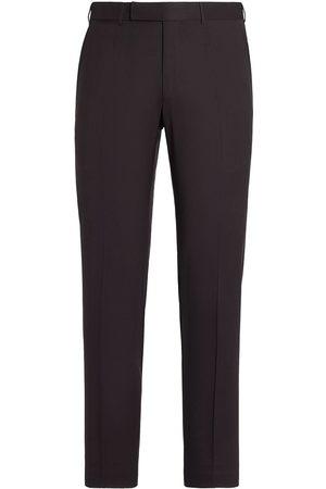 Ermenegildo Zegna Men Skinny Pants - Slim-fit wool trousers