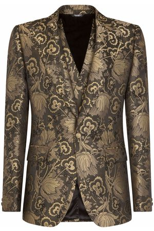 Dolce & Gabbana Lamé jacquard dinner suit