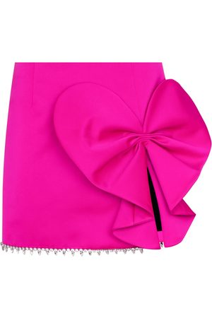 AREA Women Asymmetrical Skirts - HEART BOW SKRT MNI