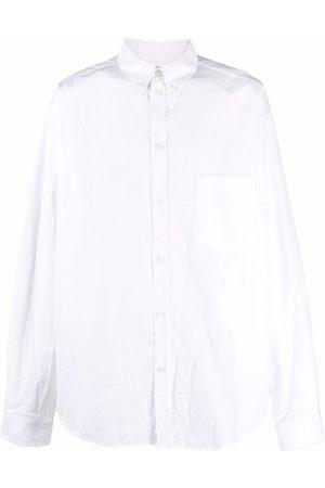 Balenciaga Rear logo-print shirt