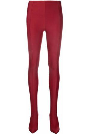 Emilio Pucci Stretch-leggings wedge pumps - Neutrals