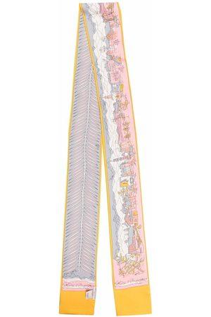Emilio Pucci Cortina d'Ampezzo-print silk stole scarf