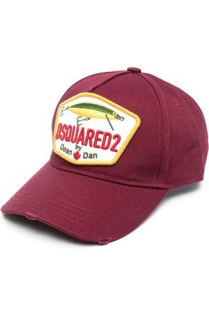 Dsquared2 Men Caps - Logo-patch baseball cap