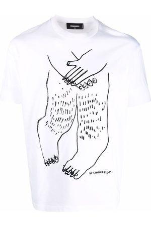 Dsquared2 Shy Guy cotton T-shirt