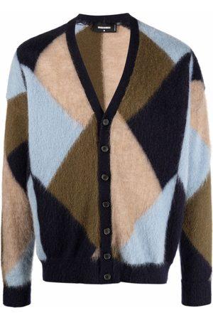 Dsquared2 Geometric-pattern cardigan