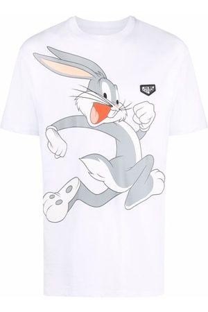 Philipp Plein Short Sleeve - Looney Tunes-print short-sleeved T-shirt