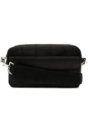 VALENTINO GARAVANI Men Wallets - Debossed-logo crossbody bag
