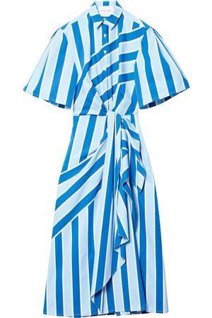 Carolina Herrera Striped shell shirt dress