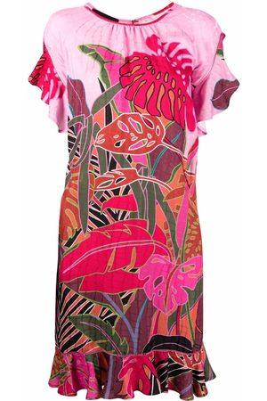 TALBOT RUNHOF Floral shift dress