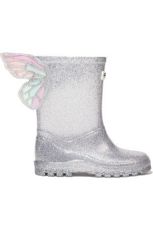 SOPHIA WEBSTER Girls Rain Boots - Glitter Butterfly rainboots