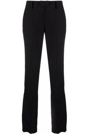 Zadig & Voltaire Women Skinny Pants - Prune side-zip slim trousers