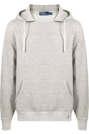 Polo Ralph Lauren Men Long sleeves - Vintage fleece long-sleeve hoodie - Grey