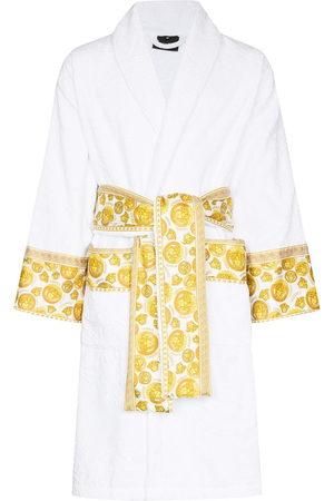 VERSACE Medusa tie-waist bathrobe