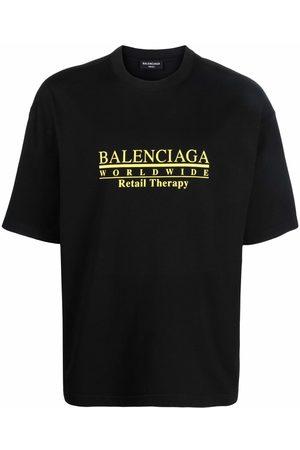 Balenciaga Retail Therapy logo-print T-shirt