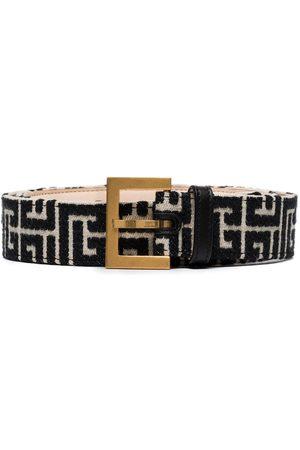 Balmain Monogram pattern 35 belt