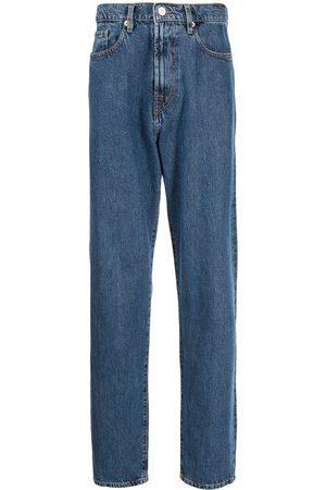 Paul Smith Men High Waisted - High-waisted straight leg jeans
