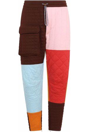 Dolce & Gabbana Colour block panel trousers
