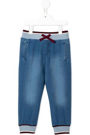 Dolce & Gabbana Jersey denim track pants
