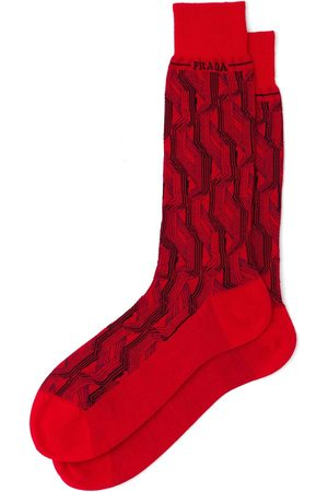 Prada Men Socks - Superfine wool ankle socks