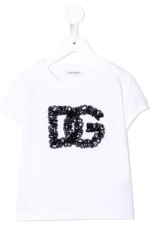 Dolce & Gabbana Boys T-shirts - Lace-logo T-shirt