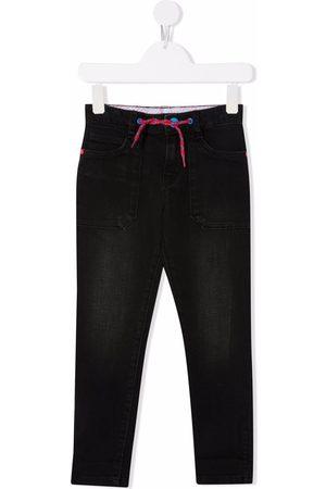 The Marc Jacobs Boys Slim - Drawstring-waist slim-cut jeans