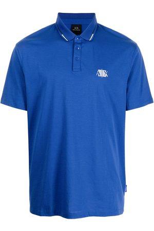 Armani Men Polo Shirts - Logo-print polo shirt