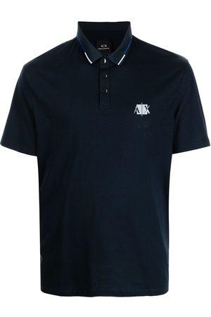 Armani Logo-print polo shirt