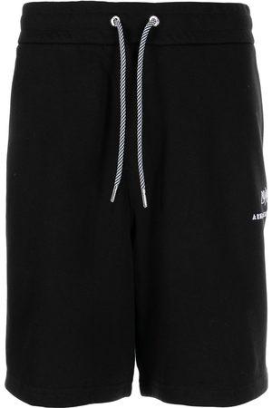 Armani Men Sports Shorts - Embroidered-logo track shorts