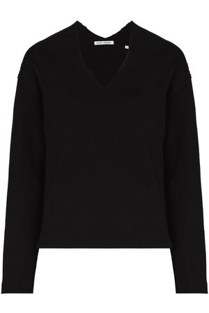 OUR LEGACY Women Sweaters - Raw-cut V-neck jumper