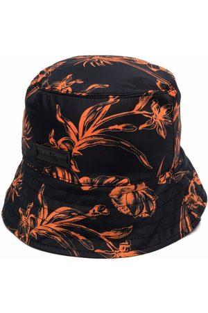 Salvatore Ferragamo Men Hats - Floral-print bucket hat