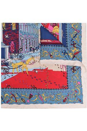Salvatore Ferragamo Women Scarves - Printed silk scarf