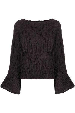 Muller Of Yoshiokubo Crumple knit jumper
