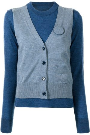 MM6 MAISON MARGIELA Waistcoat-panel jumper