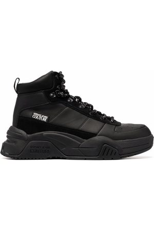 VERSACE Men Lace-up Boots - Chunky lace-up boots