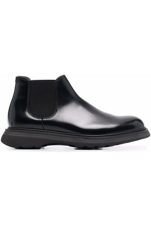 Doucal's Men Ankle Boots - Glossed ankle boots