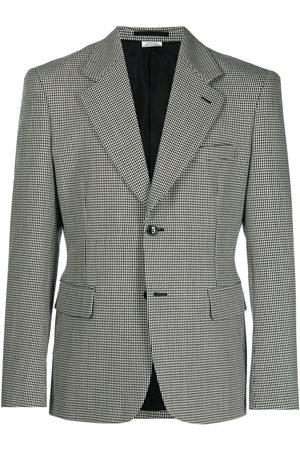 Comme des Garçons Men Blazers - Houndstooth-pattern wool blazer - Multicolour