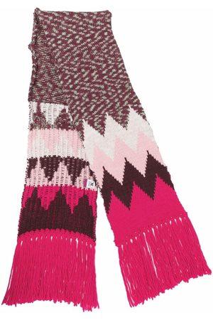 M Missoni Women Scarves - Chevron-knit wool-blend scarf