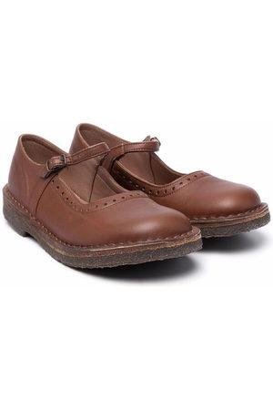 PèPè Buckled ballerina shoes