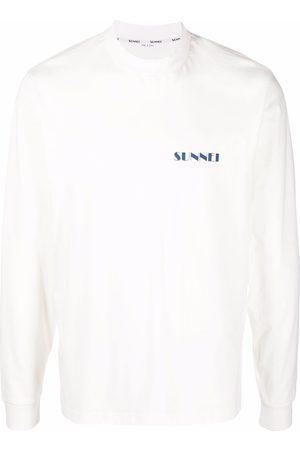 SUNNEI Logo-print long-sleeved T-shirt