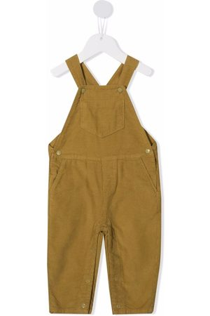 KNOT Dungarees - Corduroy-detail overalls