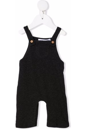 KNOT Dungarees - Cotton baby dungarees - Grey